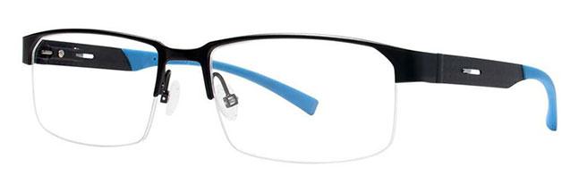 Jhane Barnes NOMIAL Black Eyeglasses Size54